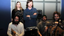 Roddy Woomble and his band
