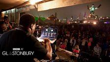 Robbo Ranx at Glastonbury 2013