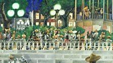 El Paseo, c. 1938 by Edward Burra