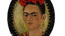 Self-Portrait (Autorretrato), c.1938 by Frida Kahlo - Photo Private collection, courtesy of Sotheby's, New York / © 2013