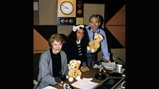 Pudsey joins John Humphrys on Radio 4's Today Programme in 1988
