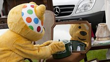 Pudsey has found something!