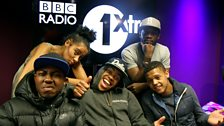 Mandem on the 1Xtra Wall