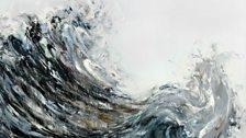 Maggi Hambling, Wave returning, 2009