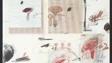 Cy Twombly, No. IV, from 'Natural History, Part I, Mushrooms', 1974