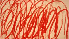 Cy Twombly, Untitled V, from Bacchus Series, 2005