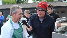 The Laverstoke Farm crew cook up a storm for Thursday morning's Breakfast Show
