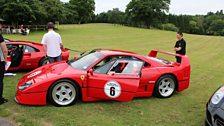 Car 6 of the Magnificent 7 - the 1990 Ferrari F40