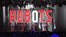 Kraftwerk at T in the Park 2013