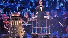 The brilliant Ben Foster conducted the BBC National Orchestra of Wales.