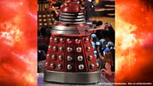 The Daleks were quite happy with their 'standing room only' tickets.