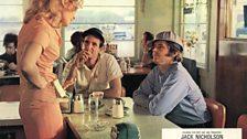 Jack Nicholson and Karen Black in Five Easy Pieces