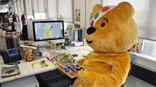 Pudsey guest edits CBeebies Magazine
