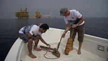 Ali Abdulrahman Ahmed and Steffen Bach of Maersk Oil