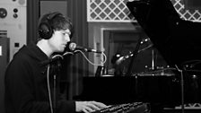 James Blake performs for Radio 1 in 2011