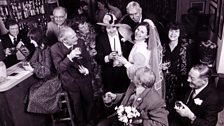 Eddie Grundy marries Clarrie Larkin (Nov 1981)