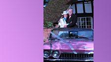 Sid Perks marries Jolene Rogers (Jul 2002)