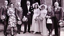 Lilian Archer marries Ralph Bellamy (Sep 1971)