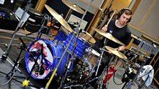 Jack Lawrence-Brown on drums