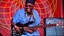Family Atlantica's bassist Mulele Matondo