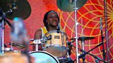 Family Atlantica's drummer Sieme Di