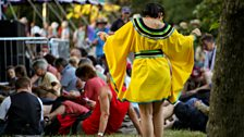 Yellow Dress- WOMAD Festival 2013