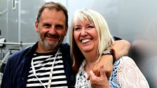 Mark Radcliffe and Maddy Prior