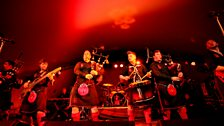 Red Hot Chilli Pipers WOMAD 2013