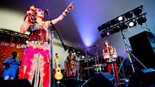 Family Atlantica at Womad 2013