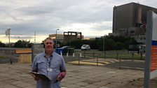 Ali visits Hartlepool Nuclear Power Station