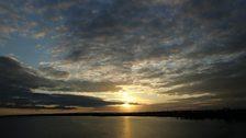 The estuary at sunset