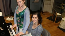 Olivia Hallinan and our pianist, Emily Hooker