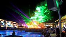 Lasers at Ushuaia