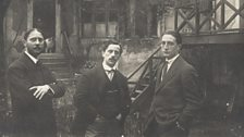 Marcel Duchamp and his brothers, Raymond Duchamp-Villon and Jacques Villon, c. 1913