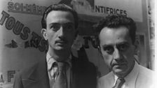 Man Ray and Salvador Dali in Paris, 1934