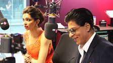 SRK and Deepika tell all about Chennai Express
