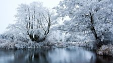 River Blythe in the snow