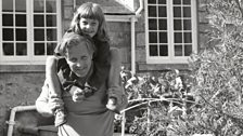Peter Lanyon with his daughter Anne-Marie, by Ida Kar, 1961