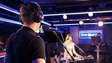 Ray Foxx in the Live Lounge