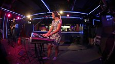 Ray Foxx & Rachel K Collier in the Live Lounge