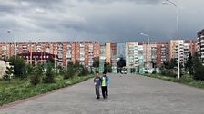 BBC's Rayhan Demytrie reports from the former Soviet state of Kazakhstan