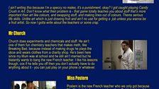 Mr Church's profile