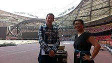 Inside Beijing's 'bird's nest' National Stadium