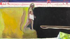 Peter Doig Walking Figure by Pool, 2011
