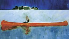 Peter Doig  100 Years Ago, 2001
