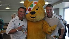 Darren Gough, Pudsey and Andrew Flintoff