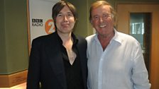 Justin Currie with Terry Wogan