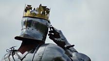 Battle of Bosworth 2013 - King Richard III