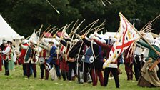 Battle of Bosworth 2013 - Archers