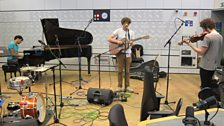 Sam Amidon in session for World on 3
